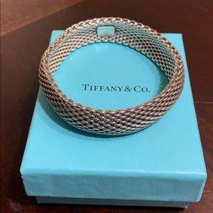 Tiffany mesh bracelet .925